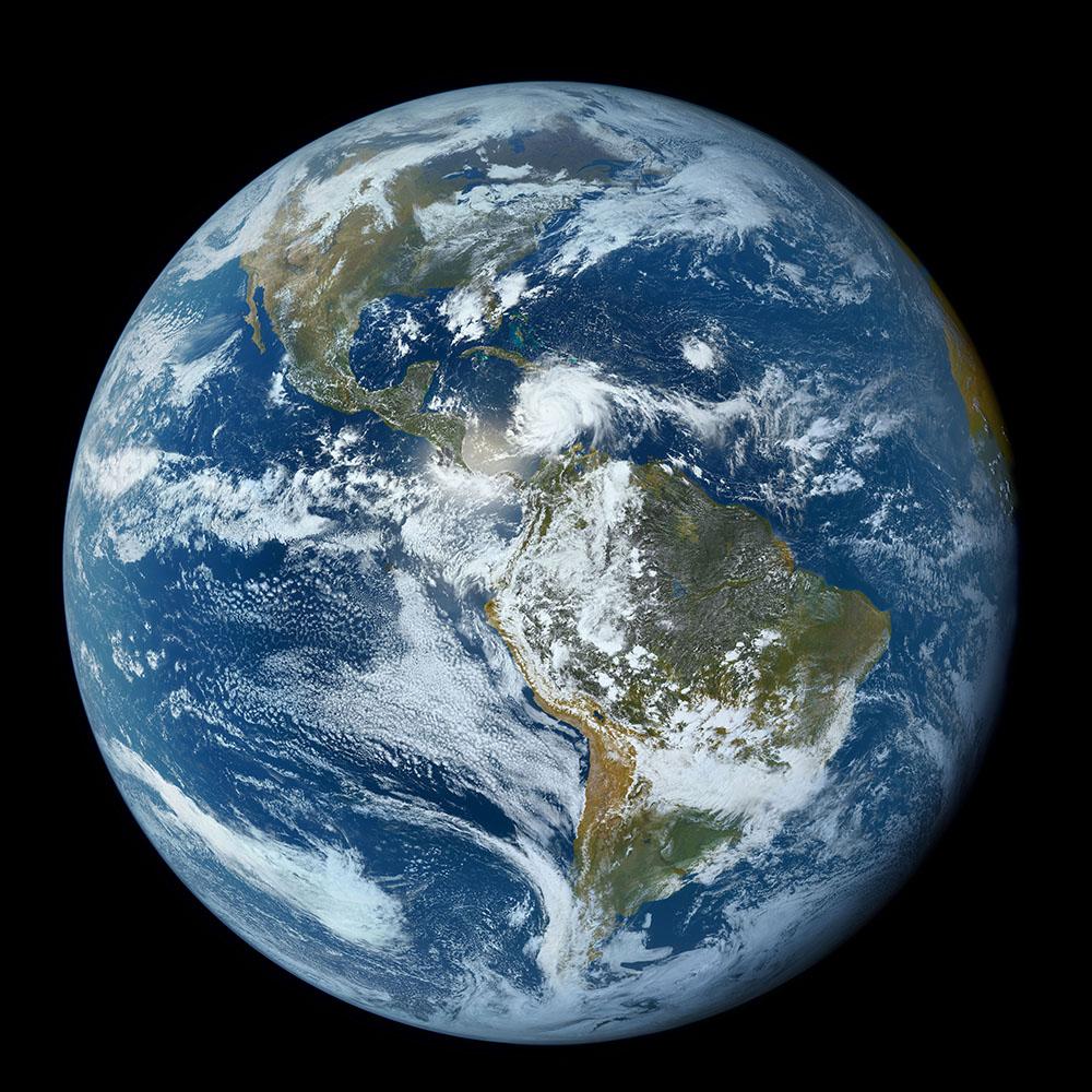 michael-benson-earthwith-hurricane-and-sahara-dust-goes-west-june-13-2015-digital-c-print-c-noaa-nasa-goesmichael-benson-kinetikon-pictures-courtesy-of-flowers-gallery