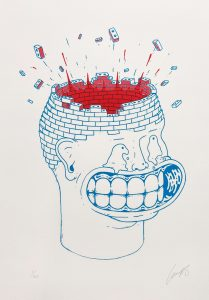 Mind-Your-Head-Screenprint LUMPS