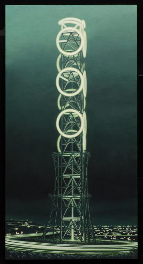 Minoru NomataSkyglow-V22008Acrylic on canvas46 x 23 7/8 in. (116.8 x 60.6 cm)© the artist.Courtesy White Cube FAD magazine