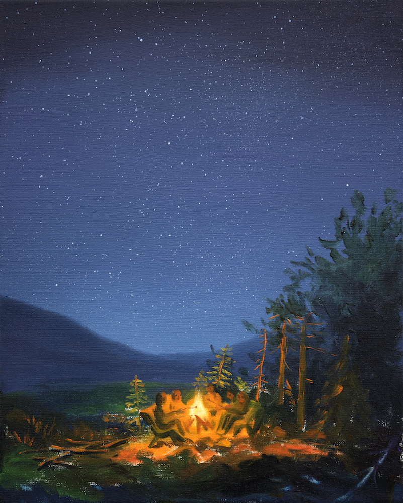 Minyoung Choi_Campfire_50x40cm