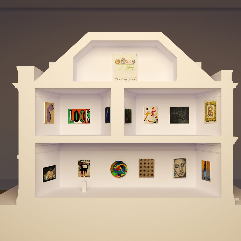 Architects' impression of the 2021 Model Art Gallery, courtesy Wright & Wright'.
