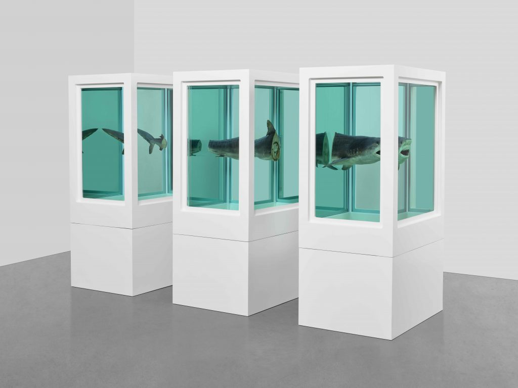 Myth Explored, Explained, Exploded (1993). Photographed by Prudence Cuming Associates ©Damien Hirst and Science Ltd. All rights reserved, DACS 2020