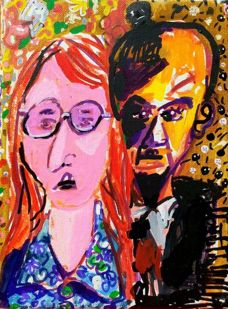 jasper joffe painting John Lennon