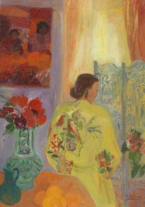 Nancy Delouis_Le Kimono Jaune