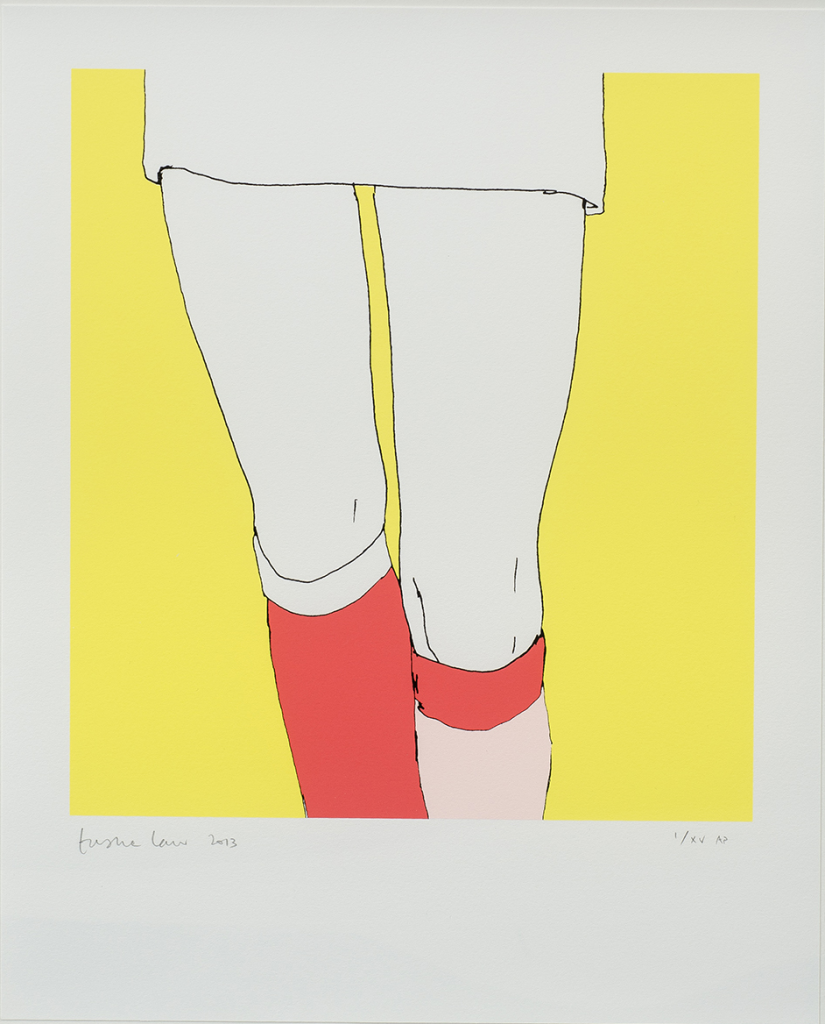 Natasha Law, Lemon Socks