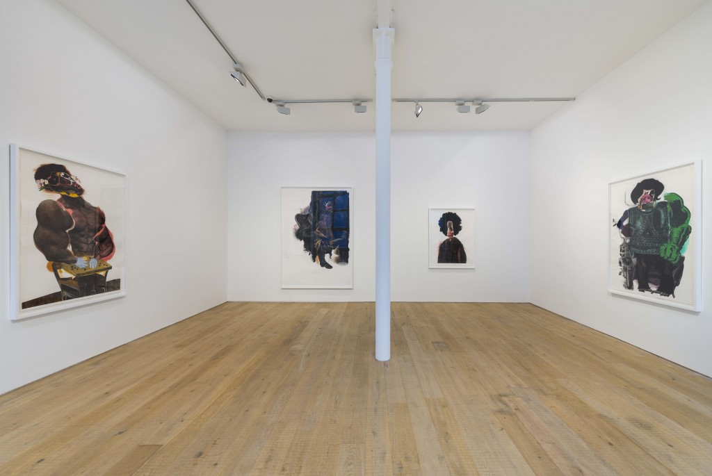 Nathaniel Mary Quinn_Pace London_Installation Shot (2)