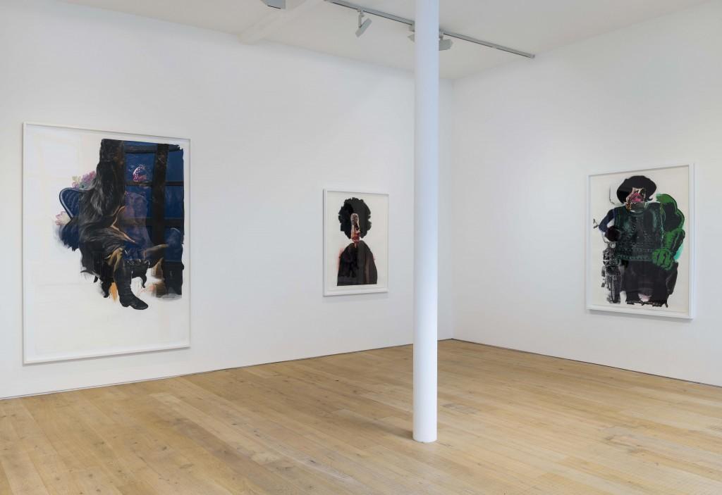 Nathaniel Mary Quinn_Pace London_Installation Shot (5)