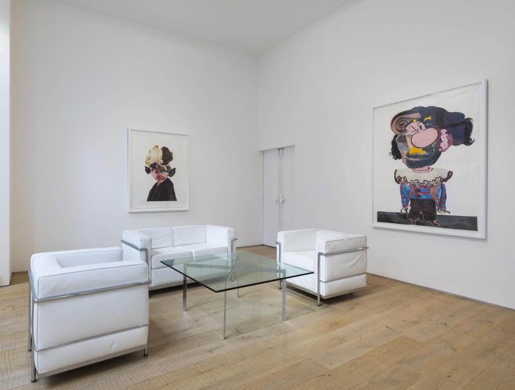 Nathaniel Mary Quinn_Pace London_Installation Shot (6)