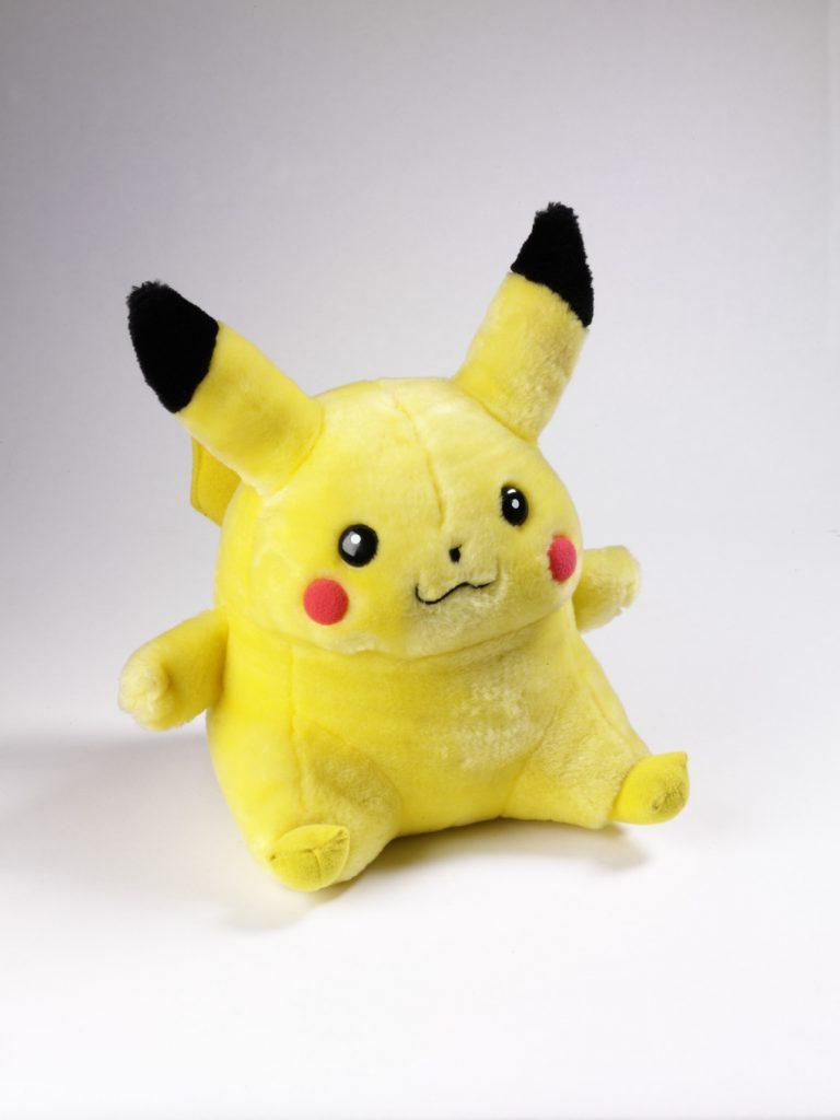 Soft toy Pikachu Deutshe Toy GMBH Munich 1995-1999 Plush FAD MAGAZINE
