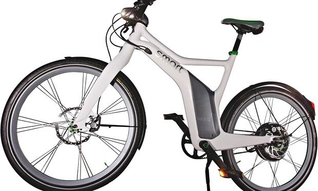 On the road: Smart ebike