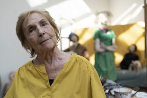 Paula Rego in her studio © Nick Willing