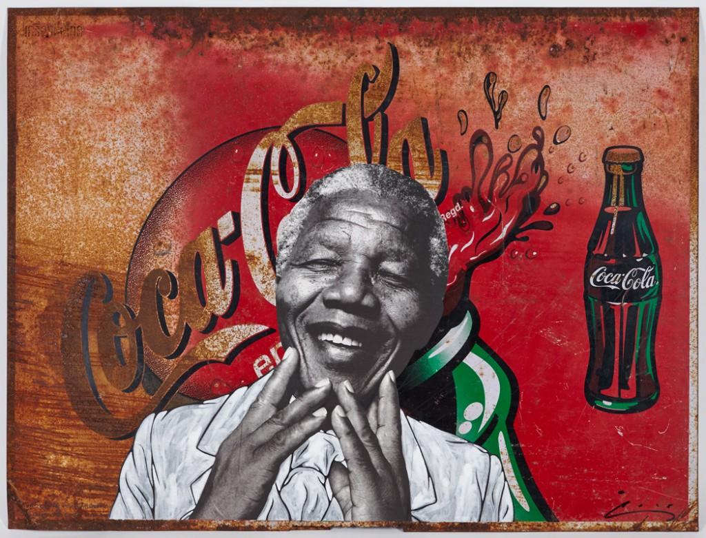 Pakpoom Silaphan - Mandela Smiles on Coke