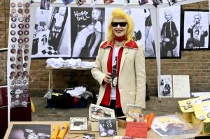 Pam Hogg at the Vauxhall Art Car Boot Fair 2013 (2)