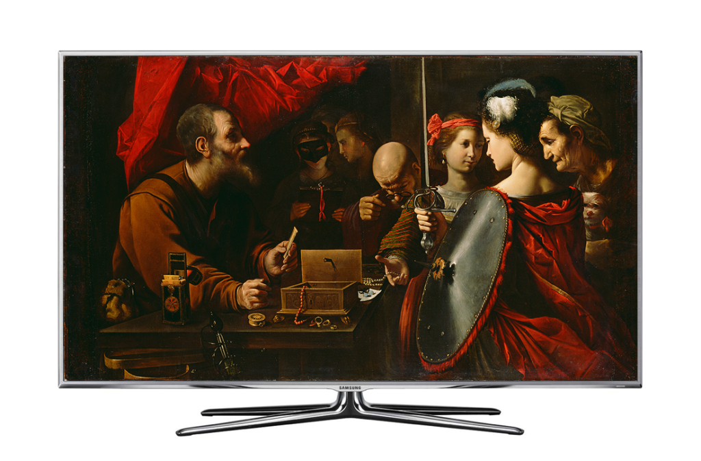Paolini - Achilles Among the Daughters of Lycomedes on TV