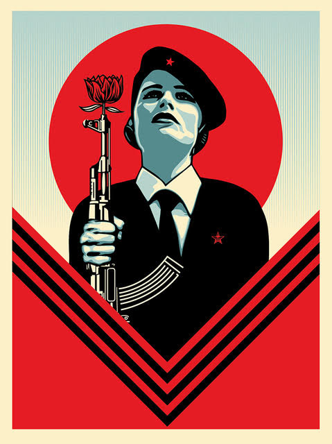 Peace Guard 2 by Shepard Fairey, 2016 (1)
