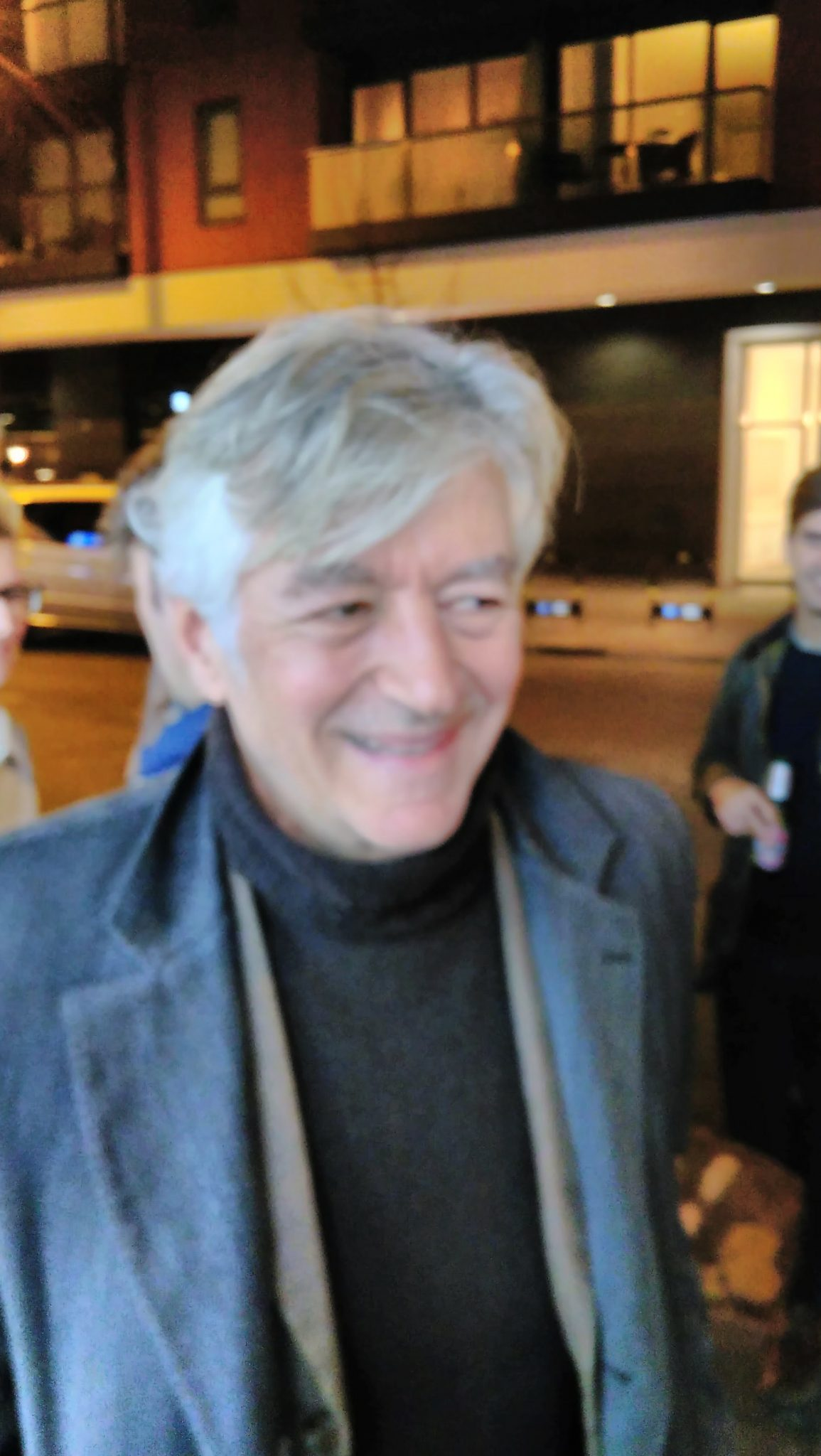 Peter Märkli in London, 2017 - photo Herbert Wright