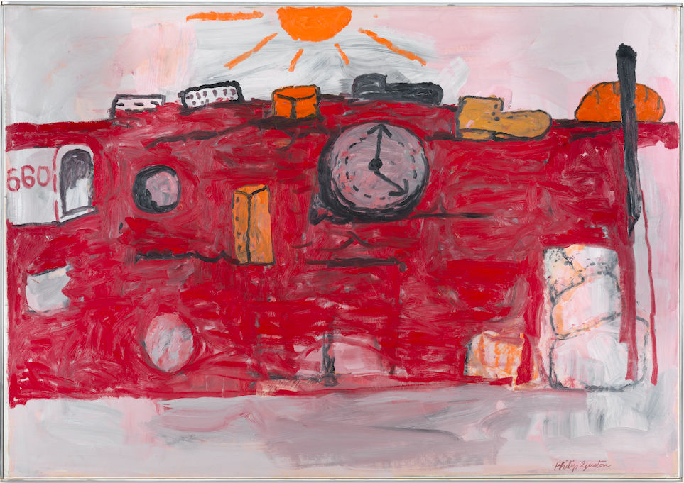 Philip Guston, The Hill