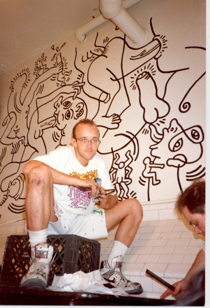 Keith Haring Photographer-unknown-1989.-Courtesy-of-The-LGBT-Community-Center-National-History-Archive FAD magazine