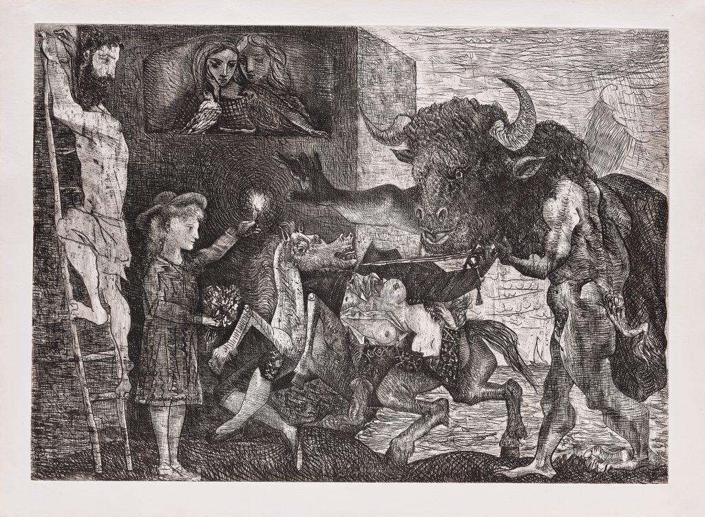 Picasso, La Minotauromachie, 1935