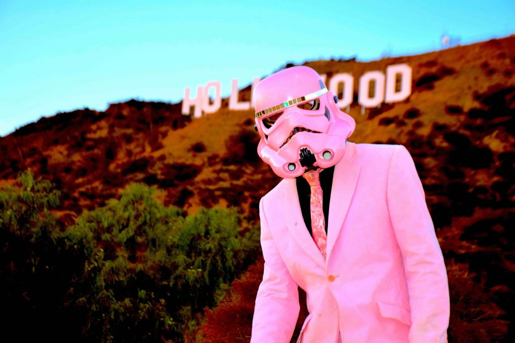 FAD MAGAZINE Pink Storm, Hollywood Edition (c) Ben Moore