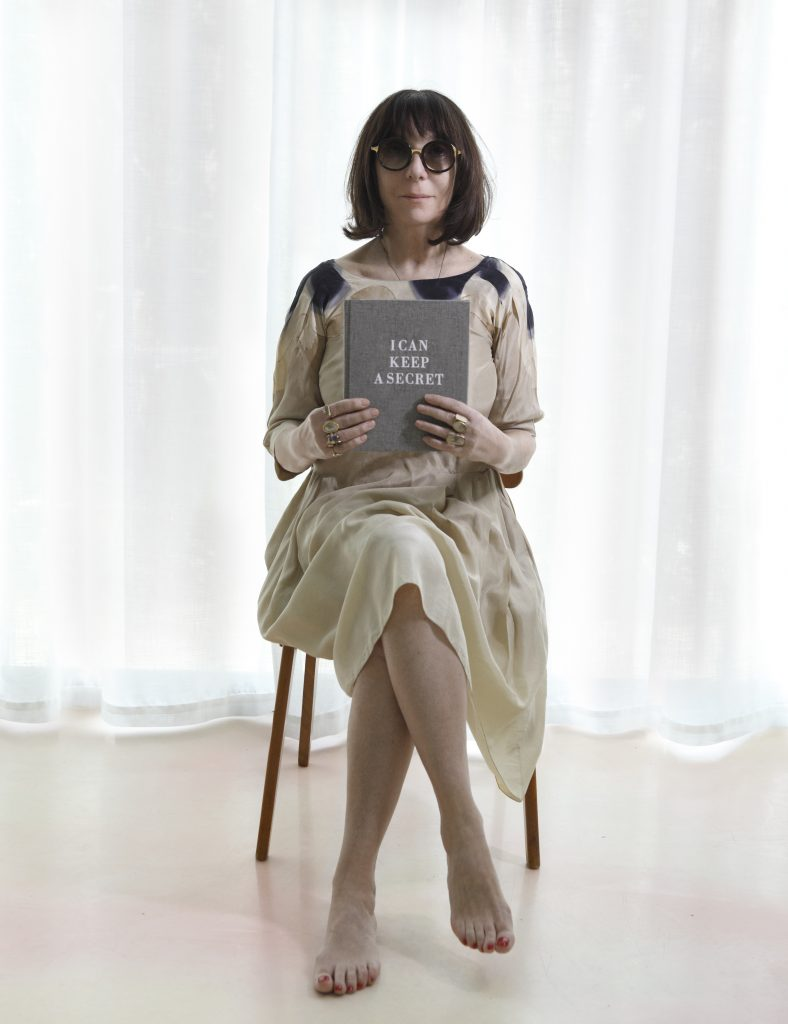Portrait of Sophie Calle © Photo Jean-Baptiste Mondino
