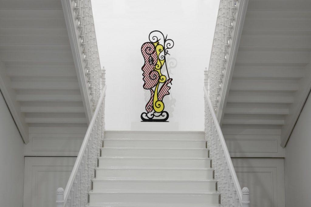 Installation view, Roy Lichtenstein, The Loaded Brush, Galerie Thaddaeus Ropac, Salzburg, 27th July - 28th September 2019 © Estate of Roy Lichtenstein / Bildrecht Wien, 2019. Courtesy Galerie Thaddaeus Ropac, London • Paris • Salzburg. Photo: Ulrich Ghezzi