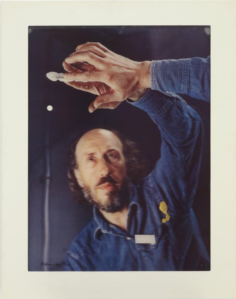 Richard Hamilton, Palindrome, 1974, Lenticular acrylic, laminated on collotype in 5 colours, on Chromolux paper, © The Estate of Richard Hamilton, Courtesy Alan Cristea Gallery