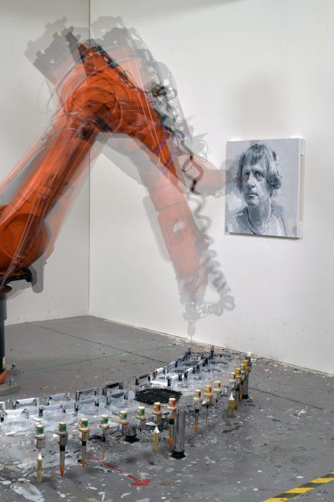 Robot Painting Work in Progress