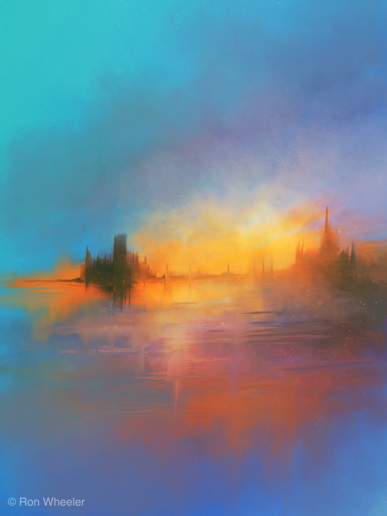 Ron Wheeler - Castle in the Sunset