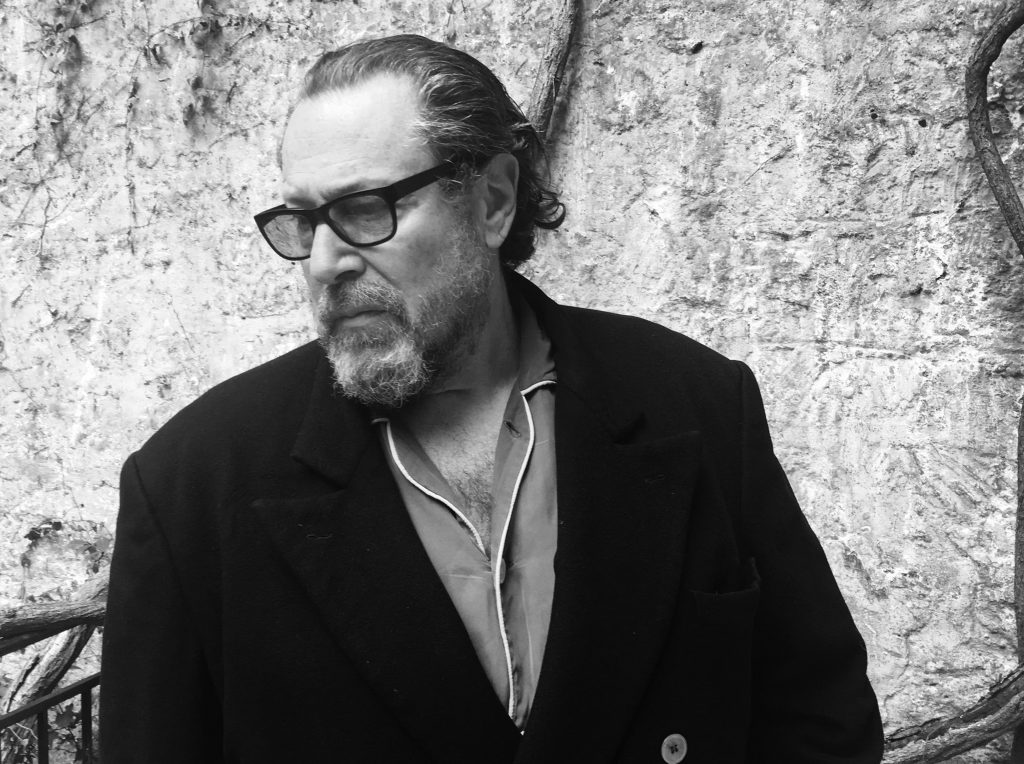 Julian Schnabel, Photo by Louise Kugelberg, Paris, France, 2016 FAD MAGAZINE