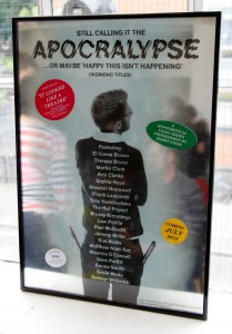 SMALL_'The Apocralypse Poster Version 2', 2012. Photographed at The Showroom, London. Courtesy Sebastian Sharples