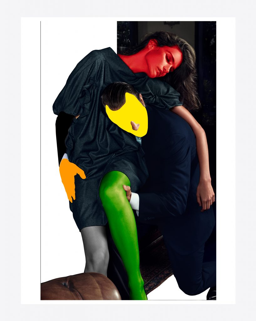 'Noses Elbows And Knees' Mario Sorrenti and John Baldessari exclusively available to pre-order at Saint Laurent Rive Droite FAD MAGAZINE