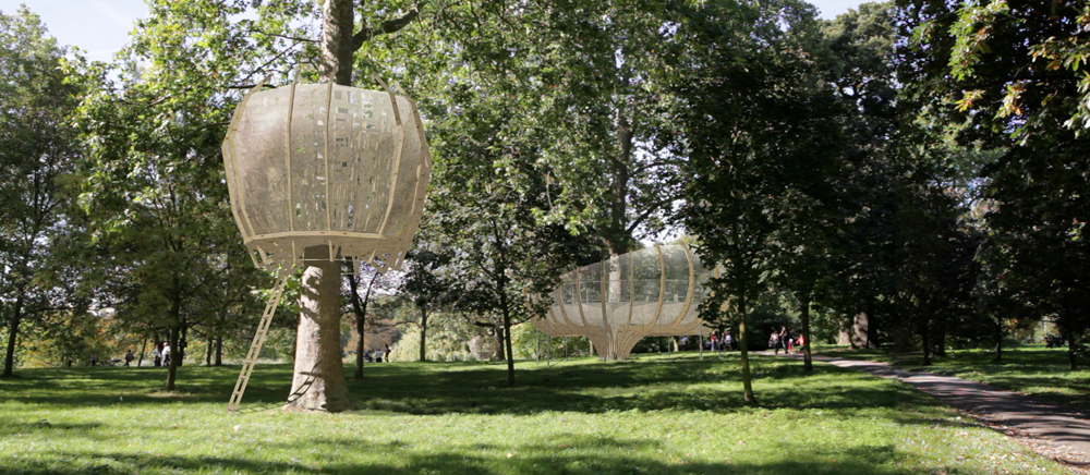 SS6 4 ART NEWS: Helena Bonham Carter and Tim Burton support campaign to create Giant Treehouses in R
