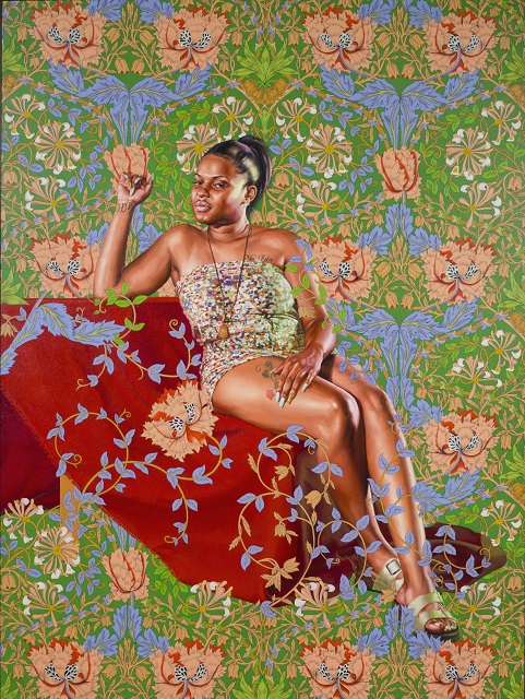 Kehinde Wiley, Saint Jerome Hearing the Trumpet of Last Judgment, 2018 © 2019 Kehinde Wiley. Courtesy of Roberts Projects