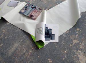 Sara MacKillop, Publications 2008 -18 (detail), 2019, Mixed media, variable dimensions, Display at ICA Milan