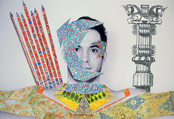 Sassan Behnam Bakhtiar. Invincible series. Ali. Courtesy the artist.