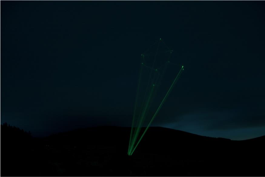 The illumination of the constellation Lupus, 2014