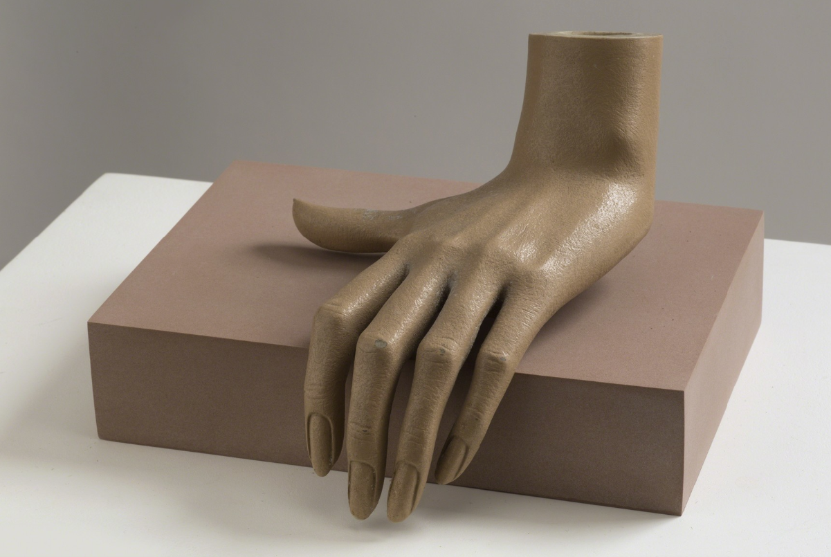 JOHN STEZAKER Touch V, 1976-1977 Rubber, plastic and fibreglass @ The Approach Gallery