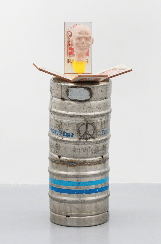 NICHOLAS CHEVELDAVE KASPAR: PT. II - Do it Yourself at Home Head Replacement Kit, 2017 @ Emalin Gallery