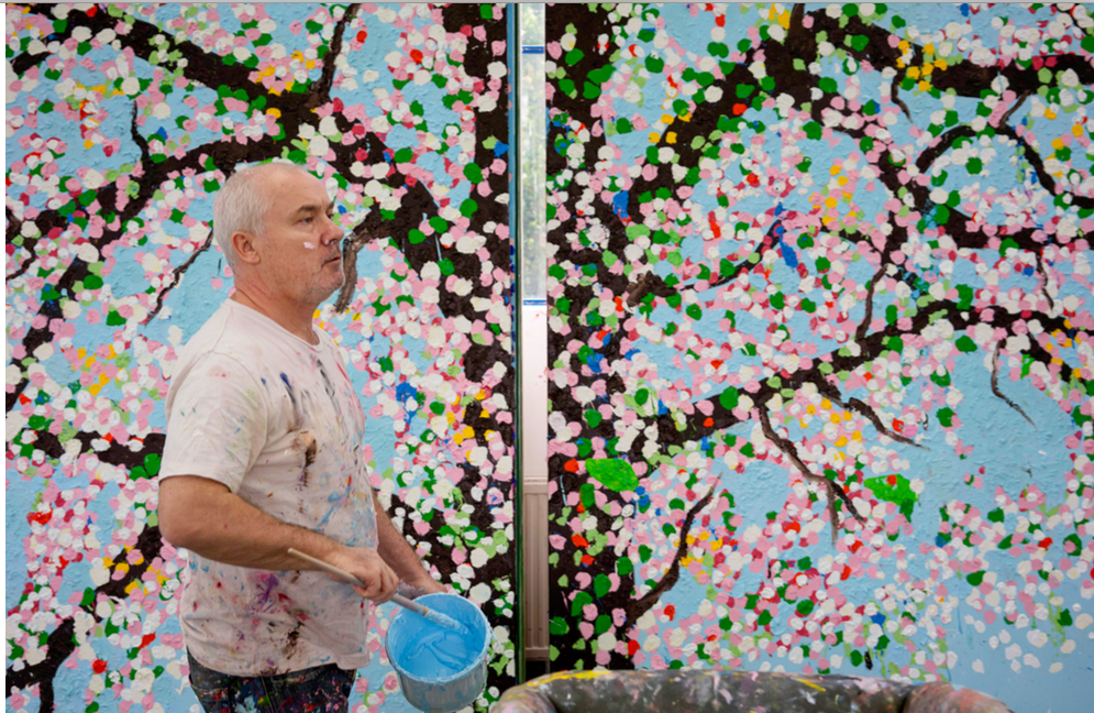 Damien Hirst's 'Cherry Blossoms' still scheduled to be shown at Fondation Cartier in Paris
