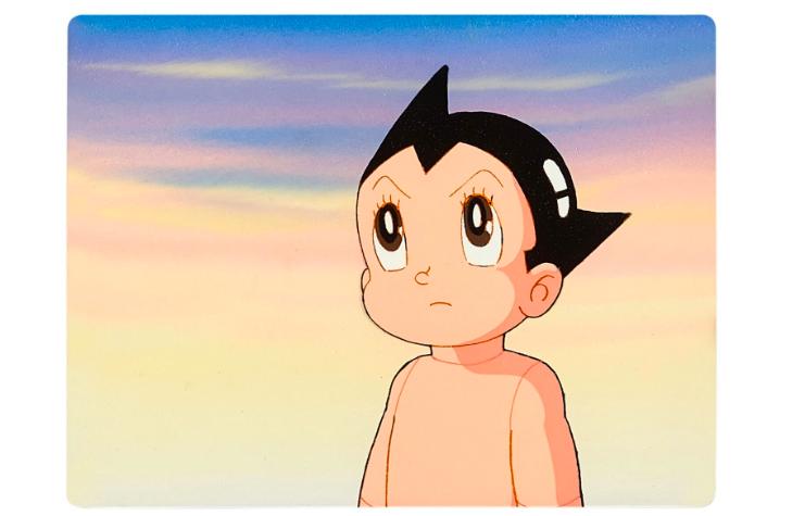 FAD MAGAZINE Astro Boy by Mushi Production ASTROY BOY ANIMATION CEL