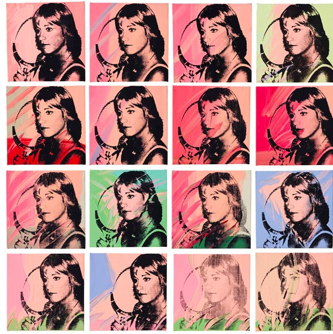Andy Warhol Chris Evert  1977 FAD MAGAZINE