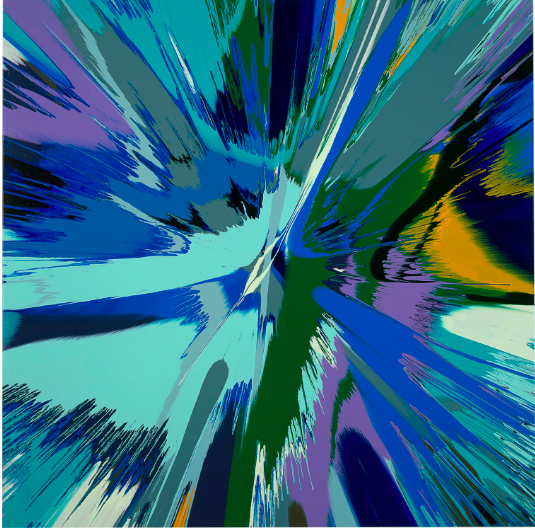 FAD MAGAZINE Damien Hirst (b. 1965) Beautiful Shattering Shuddering Can You Feel the Earth Move? Estimate: USD 250,000 - USD 350,000 (GBP 198,150 - GBP 277,410)