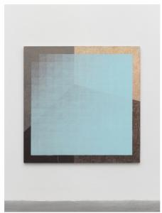 Peter Schuyff Untitled 1986 Acrylic on linen 75 3/16 × 75 3/16 in. (191 × 191 cm) FAD MAGAZINE