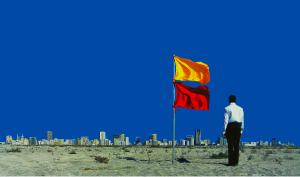Mohammed Kazem, Autobiography 4, 1997. Sharjah Biennial 6
