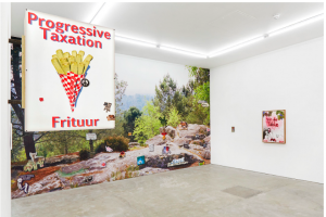 Jack Burton Pro-Social Fries Installation view photo by Corry Bartle-Sanderson FAD MAGAZINE