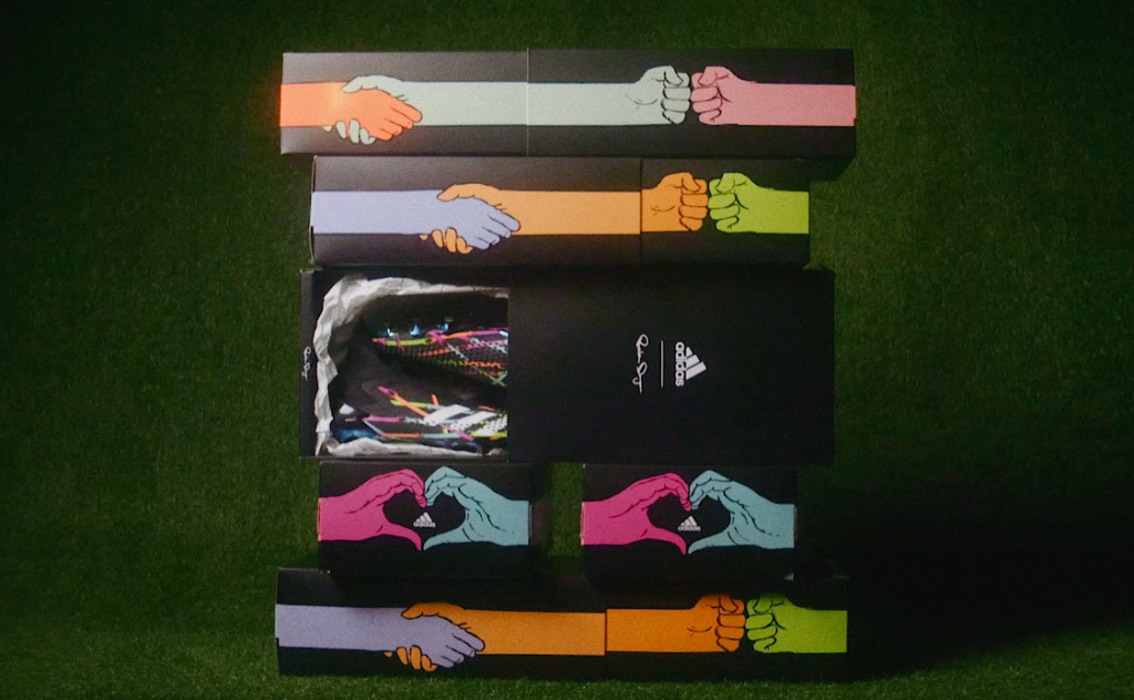 Artist Reuben Dangoor x adidas celebrate the art of football and the its power to unify