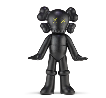KAWS (B. 1974) UNTITLED (ASTRO BOY) signed and dated 'KAWS..03' (on the underside) hand-painted resin 181?2 x 125?8 x 41?2 in. (47 x 32 x 11.2 cm.) Executed in 2003. This work is from a hand-painted series of unique variants.