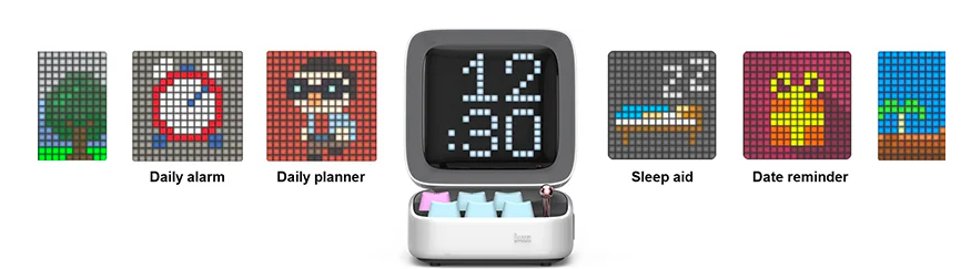 Ditoo a Multifunctional Pixel Art Bluetooth Speaker +
