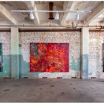© Mark Bradford Courtesy the artist and Hauser & Wirth Photo: Joshua White / JWPictures Installation view, 'Mark Bradford. Quarantine Paintings', Hauser & Wirth Los Angeles, 2020 FAD magazine
